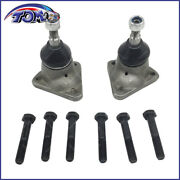 Brand New 2pcs Ball Joints Set W/ Bolts For Vw Volkswagen Super Beetle Bug