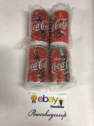 Vintage🔥4 Lots Of Coca Cola Coke Collectibles Japan 355ml Pull Tab Can🔥2dayget