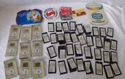 Vtg Assortment Sewing Craft Needles Advertising Lot Of 49 Pieces Trading Cards