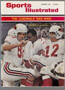 1965 Sports Illustrated Sonny Randle And Charley Johnson 11/1/1965 No Label