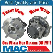 2 New Front Wheel Bearing And Hub Assembly 100 New 10-15 Xf Xfr Xk Xkr Rwd