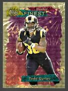 2015 Topps Finest 95 Retro Superfractor Todd Gurley Rc Serial 1/1 True 1 Of 1