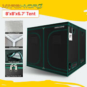Mars Hydro 8and039x8and039x7and039grow Tent Kits Indoor Room 1680d Oxford Cloth Home Box Green