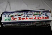 2002 Hess Toy Truck And Airplane Mint New In Box [s5825]