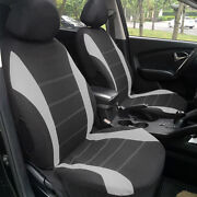 Full 9 Set Of Deluxe Low Back Full Bench Car Seat Covers Interior Accessories Cn