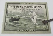 Berry Brothers Luxeberry Spar Varnish Advertising Booklet Ca 1914 Illustrated