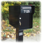Extreme Locking Mail Box 1/4 Steel Heavy Duty Security Large Solid Mailbox
