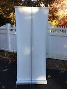 Deluxe Retractable Roll Up Banner Stand Display, 33 X 79'' W/ Free Ship