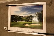 Official 2011 Us Open Ccc Golf Club Poster Print Signed Authentic 24x36