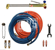 Gas Welding And Cutting Kit For Propane / Oxygen - No Regulators