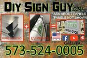 Outdoor Led Light Box Backlit Lighted Sign Diy Kit 2x6 012x6 Any Size You Need