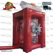 6.6x6.6ft Inflatable Cash Cube Money Machine Advertising Promotion 2 Air Blower