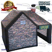 Outdoor Inflatable Pub House Bar Vip Tent Party Event With Air Blower - 20x13ft