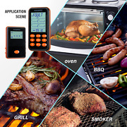 Inkbird Irf-4s 1000ft Wireless Remote Grills Cooking Thermometer Bbq Smoker Meat