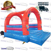 13x10ft Commercial Inflatable Bounce House Bouncy Castle With Air Blower