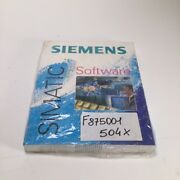 Siemens 6av6584-1ab06-0dx0 Runtime Simatic Software New Nfp Sealed