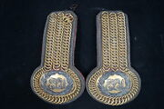 Victorian British East London Yeomanry Officers Shoulder Boards
