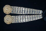 Victorian British 1834 Pattern Dragoons Officers Helmet Chin Scales And Rosettes