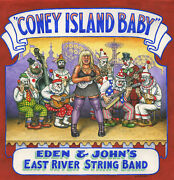 Eden And Johnand039s East River String Band - Coney Island Baby 2-lp Set New W/ Poster