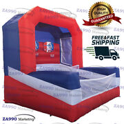 10x6.6ft Inflatable Basketball Hoop Sport Game With Air Blower