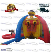 16ft Inflatable 5 In 1 Activities Carnival Sport Games With Air Blower