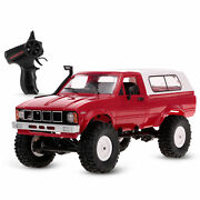 2.4ghz 4wd Rc Car Wpl C24 1/16 Crawler Pick-up Truck Rtr With Led Us Stock H1y5