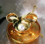 Disney Parks Mickey Mouse Club Gold Ear Hat Ornament Limited Edition Sold Out