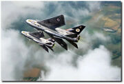 I Fear No Man By Peter Chilelli - English Electric Lightning - Aviation Art