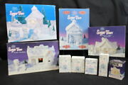 Mint Lot 50+ Boxes Of Enesco Sugar Town Christmas Buildings + Figurines