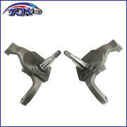 New 2-1/2 Drop Spindles For Ball Joint W/ Drum Brakes 66-76 Vw Bug 22-2859