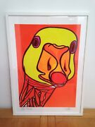 Duck Selfie - James - Signed Ltd Ed Print By Keith Browning / Framed 53x73cm