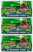 Grossery Gang Bug Strike Army Crate 2-pack 3 Packs New Sealed, Free Shipping