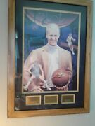 Larry Bird Collectibles The Pacesetter By David Taylor Autographed 46/133