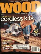 November 2001 Issue 137 Diy Wood Magazine Woodworking Arts Crafts Projects Home