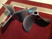Stainless Steel Props 15.5 X 26p Left And Right Hand Set