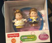 Fisher-price Little People Disney 2 Pack Belle And Adam Exclusive
