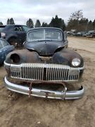 46 47 48 Desoto Custom Coupe Convertible Complete Front Chrome Grille