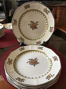 Royal Doulton Duesbury Set Of 6 Plates 10andrdquohard To Find .