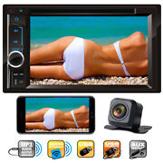 Sony Len Camera + Touch 2 Din Car Dvd Player Radio Stereo Audio For Mazda 2 3 5