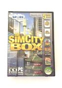 The Simcity Box - Pc Dvd Game Set 100 Complete Free Express Shipping