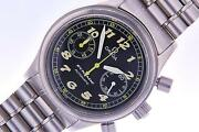 Omega Dynamic Stainless Steel Chronograph Automatic Mens Vintage Collector Watch