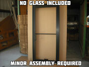 Commercial Aluminum Storefront Door Frame And Closer 3and0390 X 7and0390 Bronze Finish