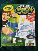 Brand New Crayola Marker Airbrush Turn Markers Into Spray Art New And Improved S..