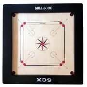 Pro Bull 5000 20mm Tournament Carrom Board And Coins + Striker Best Choice Gift