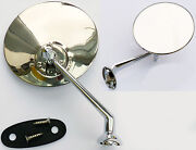 Classic And Vintage Car Adjustable Left Or Right Hand Chrome Door Or Wing Mirror