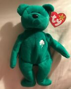 Erin 1997 Original Beanie Baby 1st Edition Rare Mint Condition Collectible Toy.
