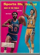 1973 Sports Illustrated Walt Frazier And Jerry West 5/7/1973 No Label