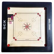 Sale Bull 5000 20mm Carrom Board Game Full Size Christmas Gift For Grand Father