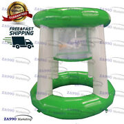 5ft Commercial Inflatable Floating Basketball Hoop Water Game With Air Pump