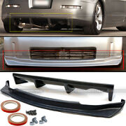 Fit 03-05 350z Unpainted Ns N Style Front And Rear Bumper Lip Diffuser Body Kit